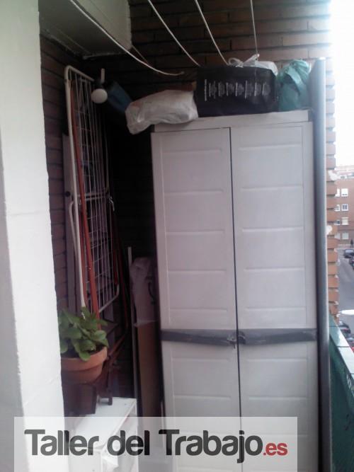 Presupuesto construcci n y montaje de armario de aluminio - Armarios de terraza ...