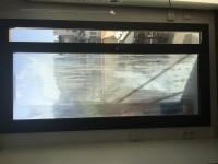 Presupuesto humedad en puerta ventana doble cristal