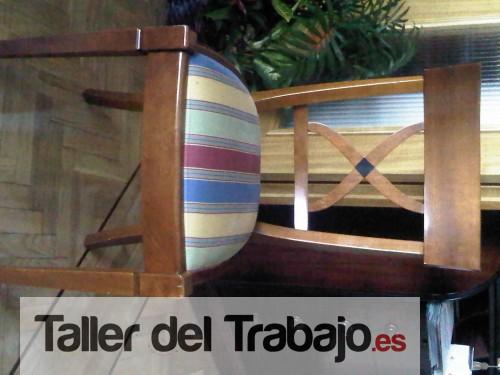 Presupuesto sillas comedor sillon en madrid - Presupuesto tapizar sillas ...