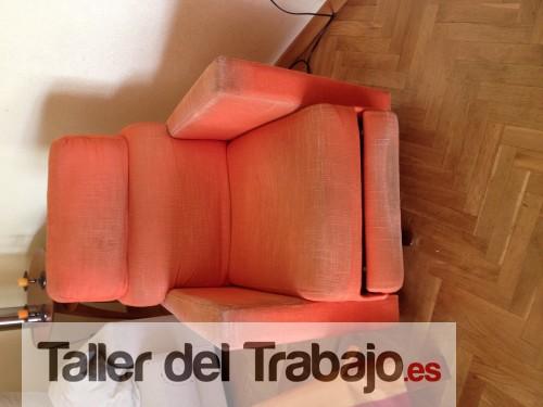 Como tapizar un sillon relax good modelo grecon silln for Cuanto vale tapizar un sofa