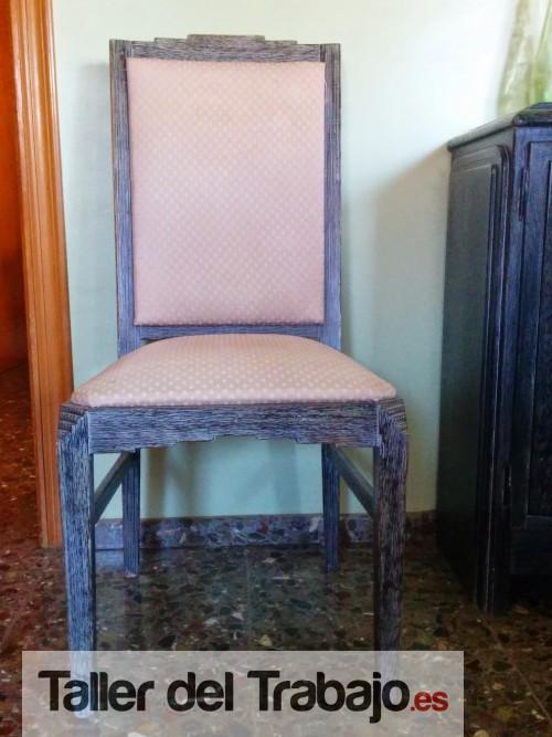 Presupuesto tapizar 6 sillas y 2 silloncitos comedor en Castellón De ...