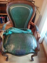 Presupuesto tapizado de asiento y brazos
