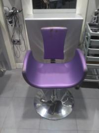 Presupuesto tapizado cuatro sillas de peluquería